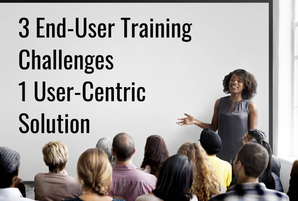 enterprise software end user training in classroom
