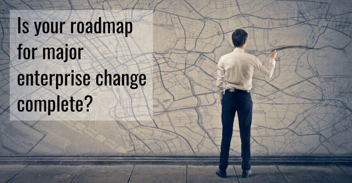 man makes roadmap for digital adoption